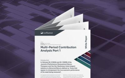 Multi-Period Contribution Analysis